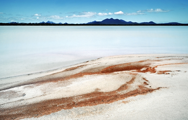 Salt Lake near the Stirling Ranges