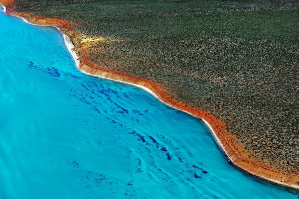 Shark Bay Aerial #14, Shark Bay WA