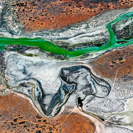Shark Bay Aerial #16, Shark Bay WA