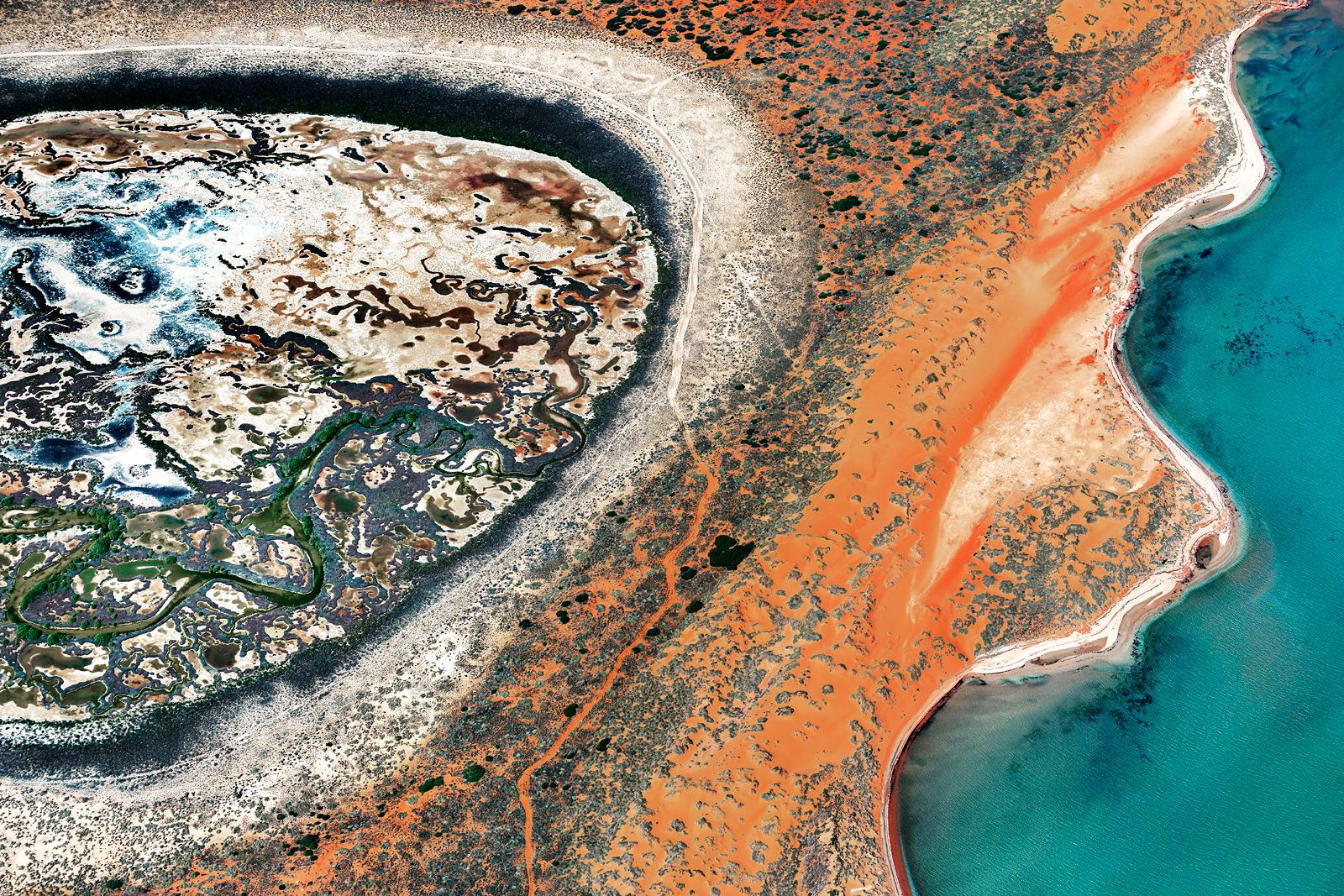 Shark Bay Aerial #18, Shark Bay WA
