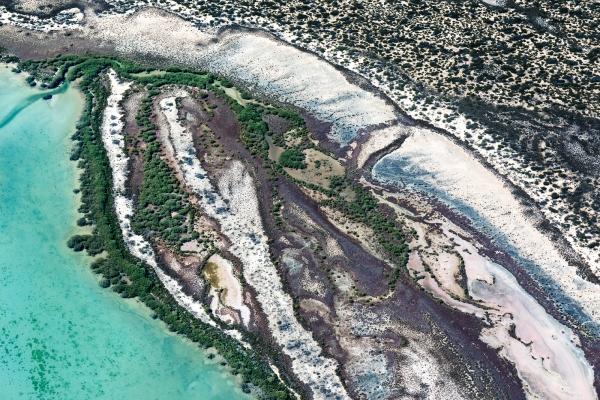 Shark Bay Aerial #2, Shark Bay WA