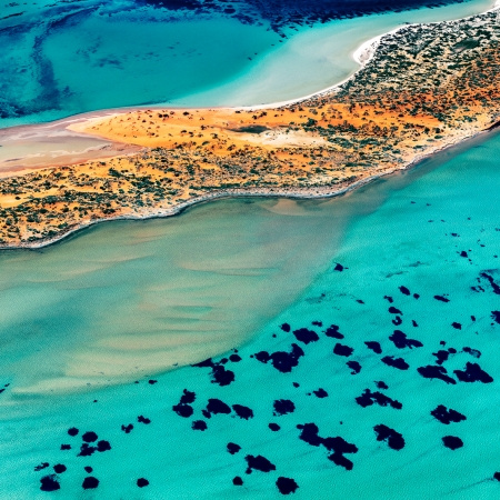 Shark Bay Aerial #3, Shark Bay WA