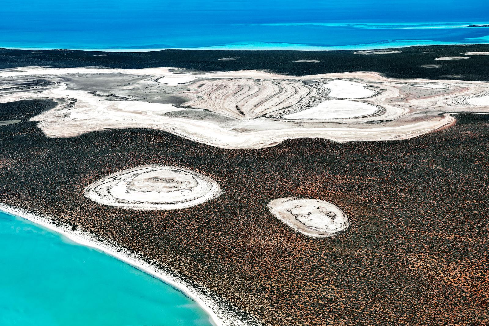 Shark Bay Aerial #35, Shark Bay WA