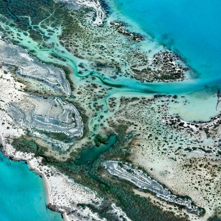 Shark Bay Aerial #5, Shark Bay WA