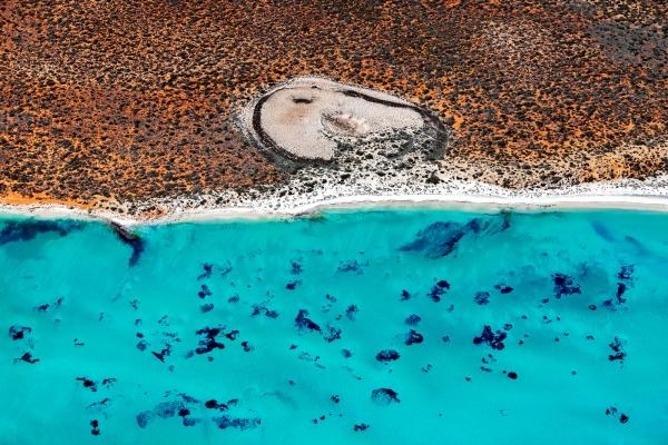 Shark Bay Aerial #7, Shark Bay WA