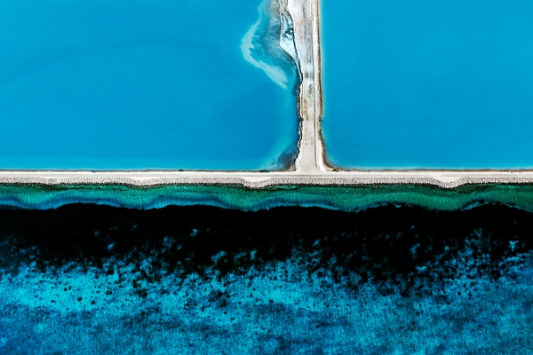 Useless Loop Aerial #17, Shark Bay WA