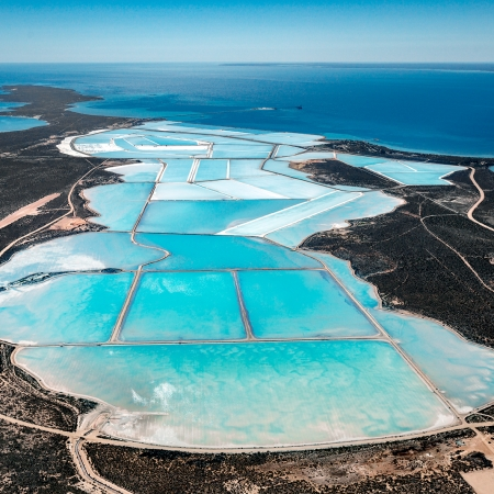 Useless Loop Aerial #23, Shark Bay WA
