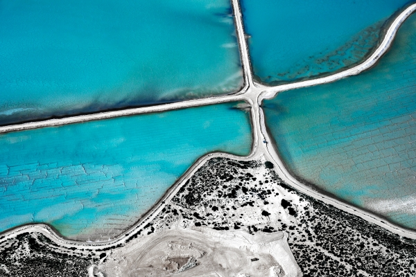 Useless Loop Aerial #3, Shark Bay WA