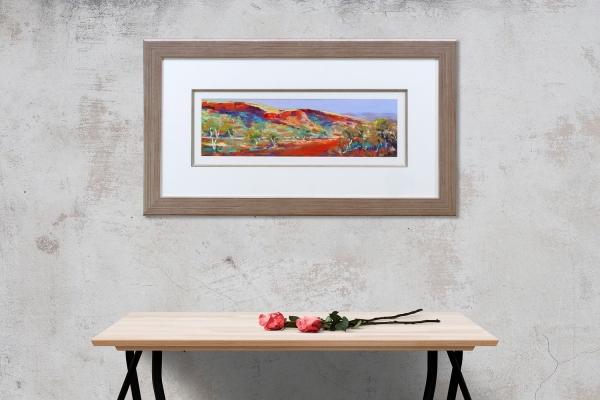 Banjima Drive, Karijini Framed on a wall