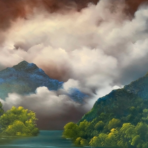 'Blue Serenity' by Elaine Green