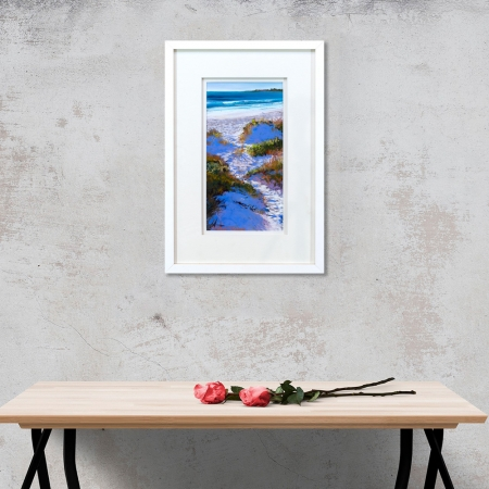 Coastal Magic Framed on a wall