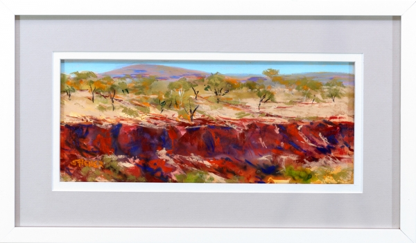 Dales Gorge Framed