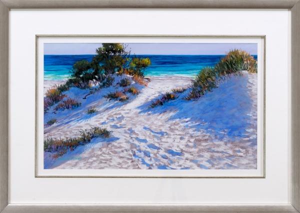 Dune Shadows Framed