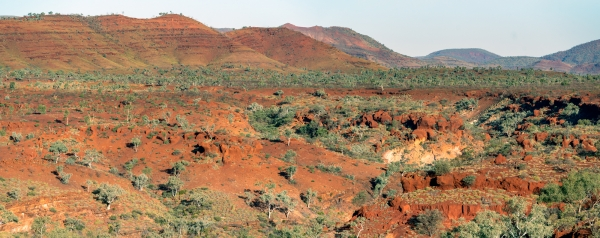 Hamersley Range Panorama
