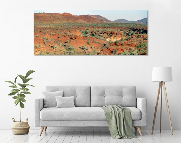 Hamersley Range Panorama in a room