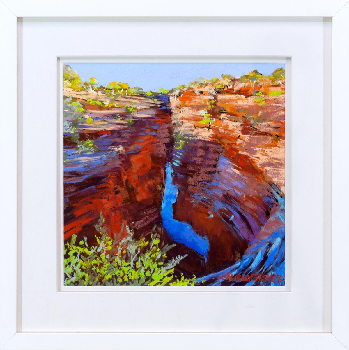 Joffre Creek Gorge Framed