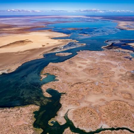 Lake McLeod Aerial 3