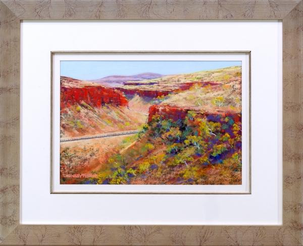 Munjina Gorge Framed