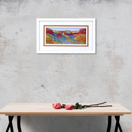 Munjina Framed on a wall