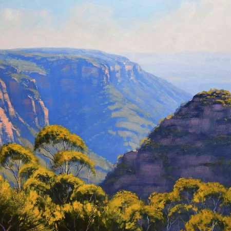 View Across Narrow Neck, Katoomba