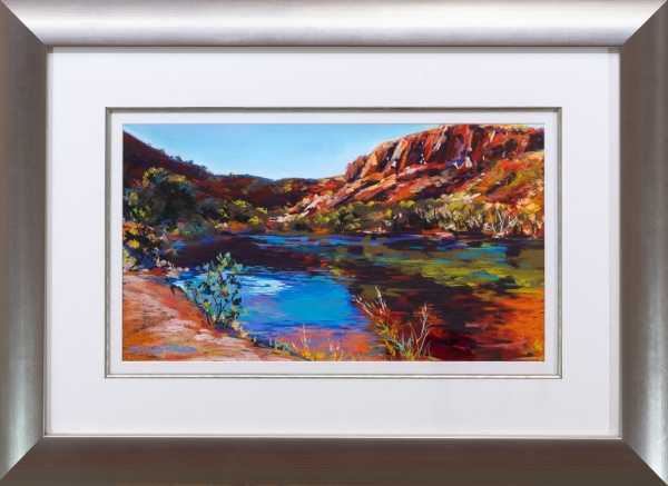 Ord River at Lake Argyle Framed