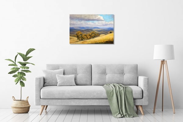 Cloud Shadows, Kanimbla Valley in a room