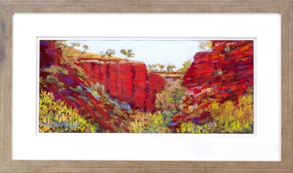 The Rugged Pilbara Framed