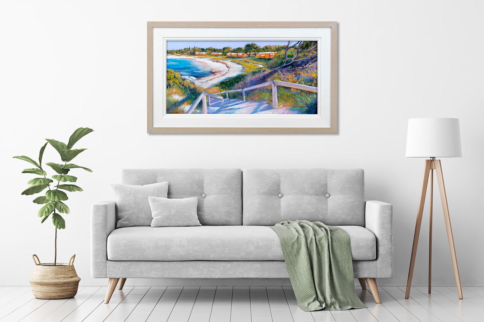 Thomson Bay, Bathurst End Framed in a room