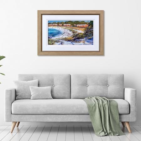 Thomson Bay Outlook Framed in a room