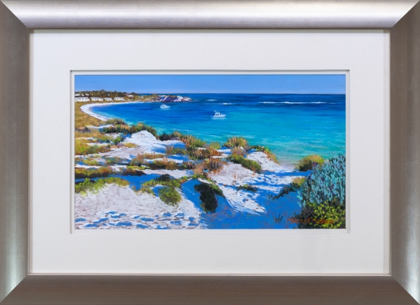 Turquoise Waters Framed