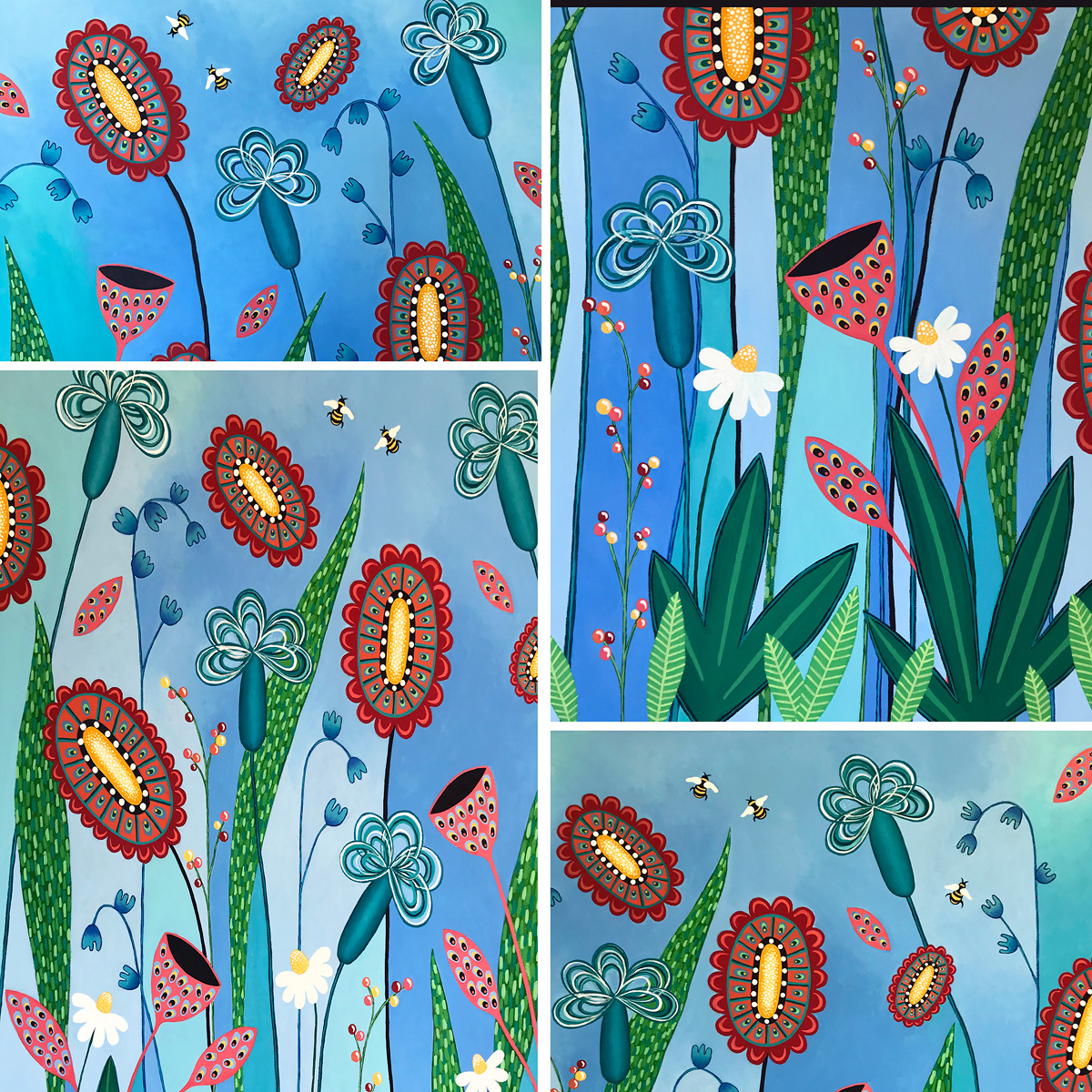 Blooming Abundance detail