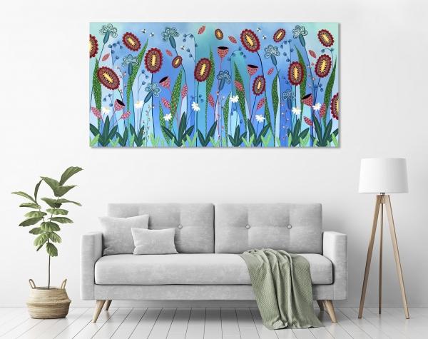 Blooming Abundance in a room
