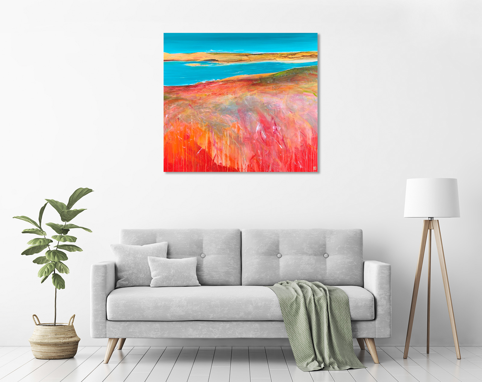 Tidal Inlet in a room