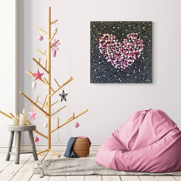 Fragile Heart in a room