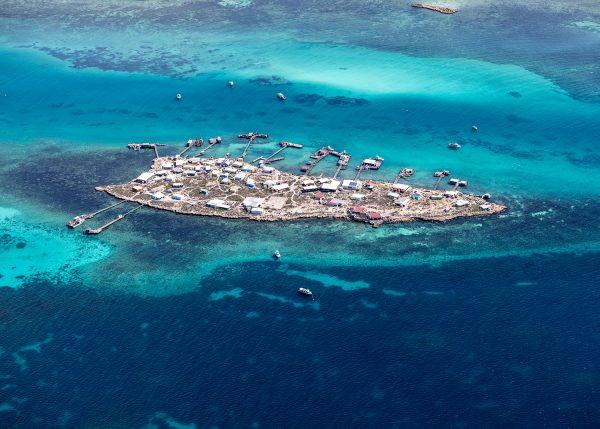 DSF3428 - Abrolhos Islands Aerial