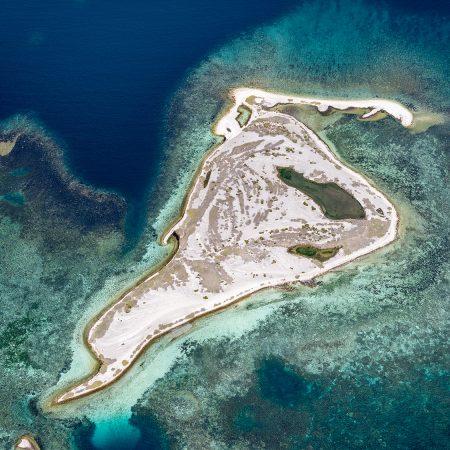 DSF3459 - Abrolhos Islands Aerial